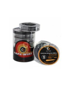 Twisted clapton wire